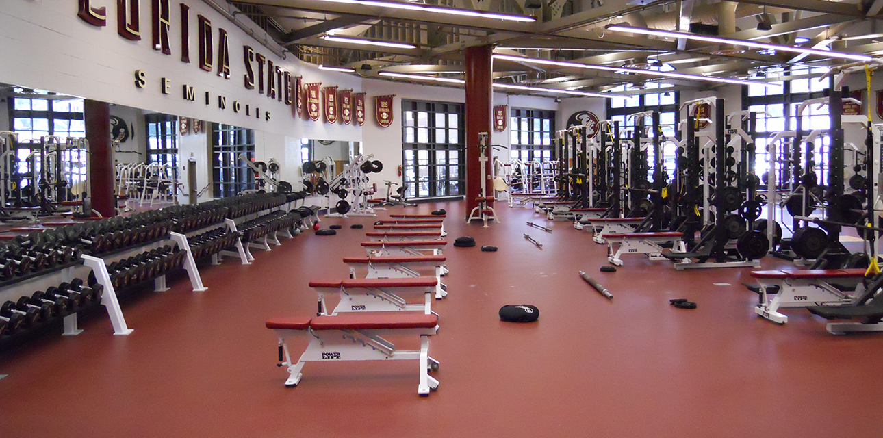 FSU Football Weight Room