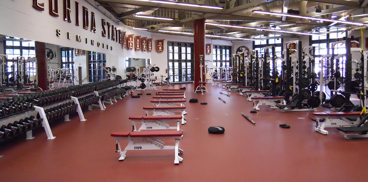 FSU Football Weight Room