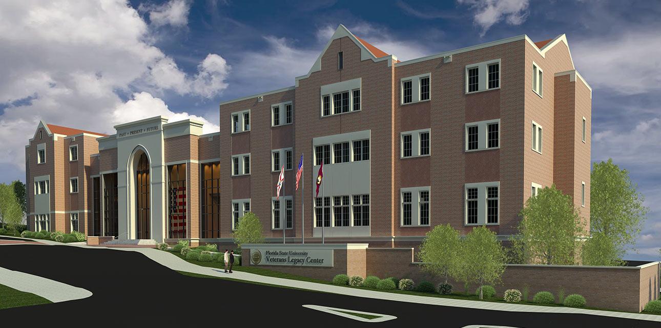 Veterans Legacy Center, Barnett Fronczak Barlowe & Shuler Architects