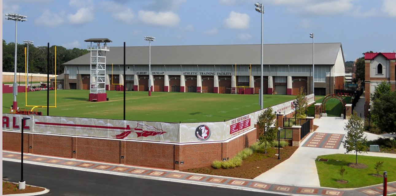 FSU Indoor and Outdoor Football Practice Facility